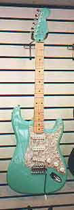 Sea Foam Green Strat